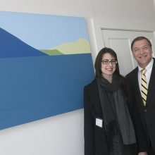 Victoria Febrer receives Stony Brook University's  Presidential Art Award